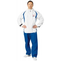 "Training suit ""Hayashi"" white/blue"