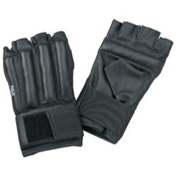 Bag Mitts. Special Leather. Padding. Black