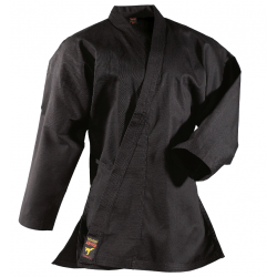 Karate Suit Asia-Shiro noir Danrho