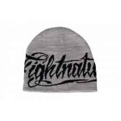 chapeau Fightnature gris