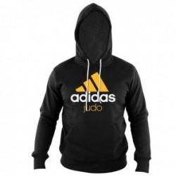Adidas Community Sweat à capuche Noir / Orange Judo
