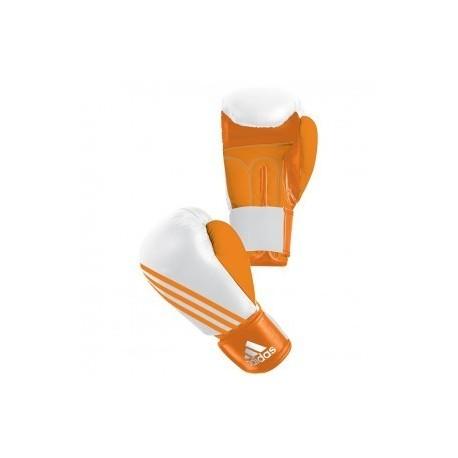 Adidas Boxfit Climacool Gants de Boxe  Orange/Blanc
