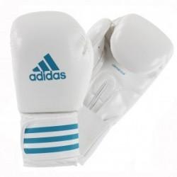 Adidas Female Power 200 (kick) Gants de Boxe  Blanc/Bleu