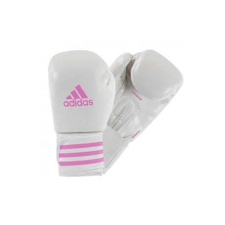Adidas Female Power 200 (kick) Gants de Boxe Blanc/Rose