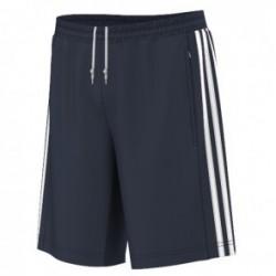 T-Shirt adidas T16 Team Short Bleu / Blanc