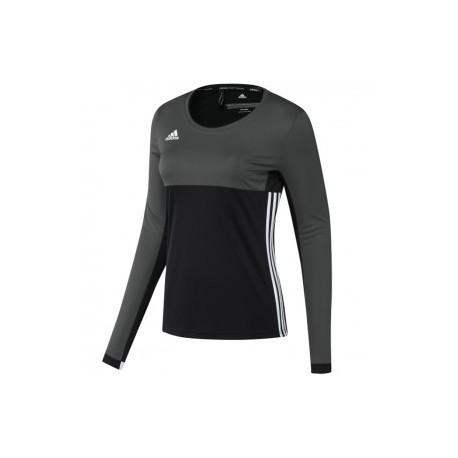 adidas T16 ClimaCool Long Sleeve Tee Women Zwart