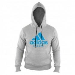Adidas Community Hoodie Gray / Blue Karate...