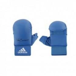 Adidas WKF Gant de Karaté avec le pouce bleu