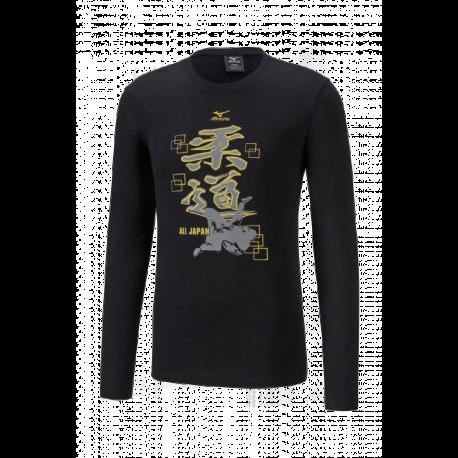 T-shirt Judo Dento Bleu