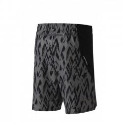Alpha Imprimé 8.5 Shorts Gris et Noir