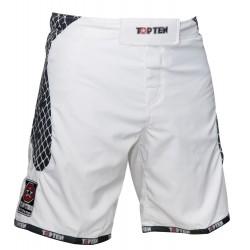 """Mma-shorts """"Cage"""" Weiss-schwarz"""