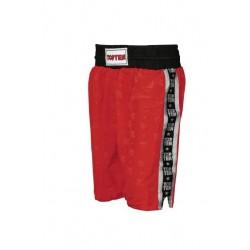 Short Top Ten Stripe Rouge