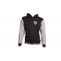 Jacket with hood TOP TEN black