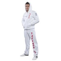 ZIP Hoodie ITF Taekwon-Do Blanc