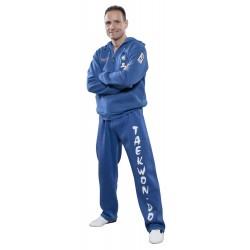 ZIP Hoodie ITF Taekwon-Do Bleu