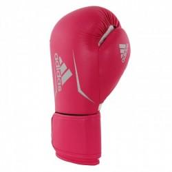 Adidas Speed 100 kick bokshandschoenen Roze / Zilver dameseditie