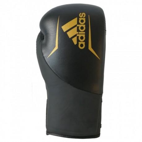 Adidas Speed 200 kick bokshandschoenen zwart / goud