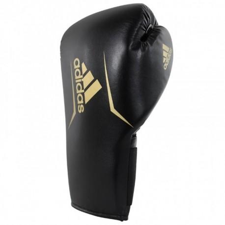 Adidas Speed 75 Kick Boxing Gants Noir / Or