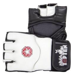 Combat ultime-Handschuhe E-Flexx blanc / noir