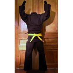 Karate Gi Siroto Kiiro Black