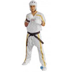 Kickboxpants TOP TEN white/gold