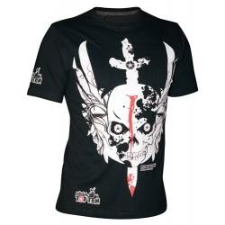 """T-shirt """"Épée"""" - Schwarz"""