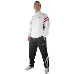 """Trainingsuit for men TOP TEN """"Fight Elite"""" white/red"""
