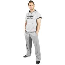 Hooded shirt TOP TEN short-sleeved grey