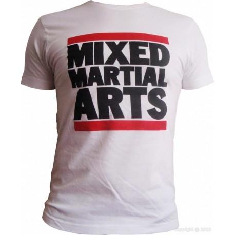 T-Shirt Mixed martial arts blanc