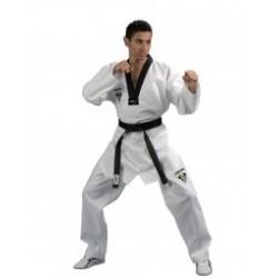 Dobok Taekwondo Starfighter, col noir Kwon