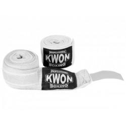 Bandages Kwon boxe professionnelle  lastique, blanc Kwon